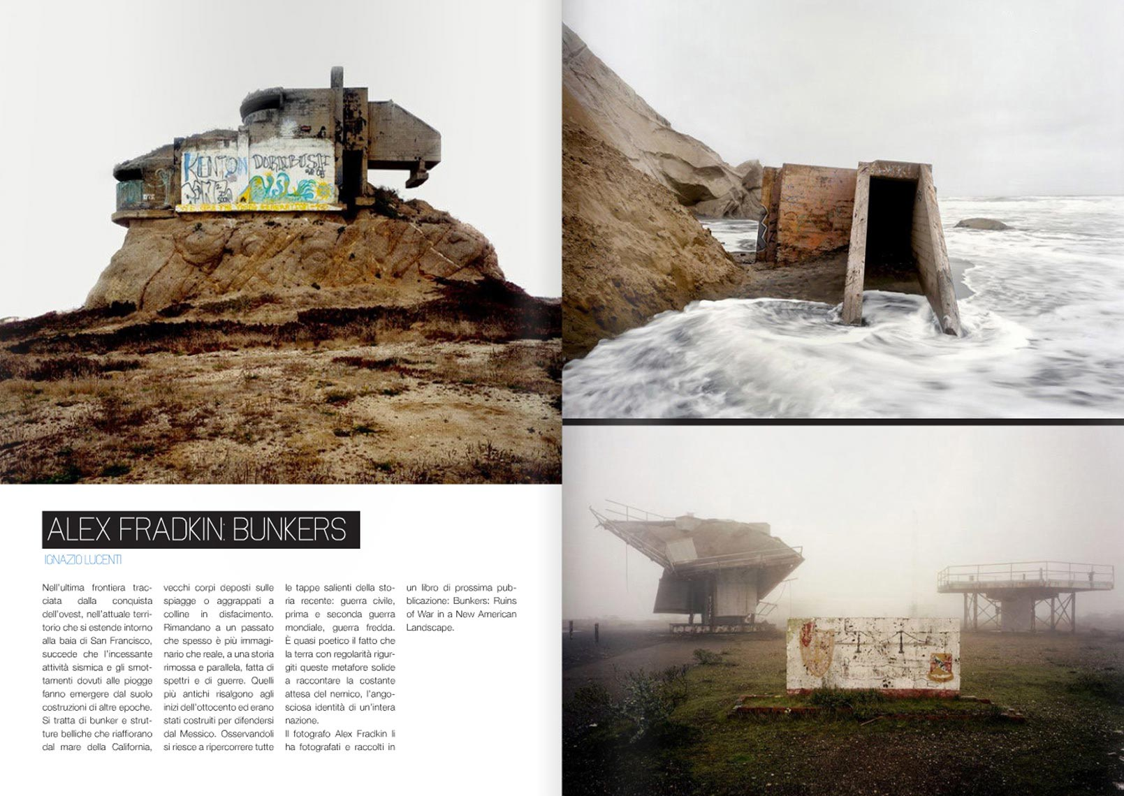 "THE BUNKER PROJECT | Press for ""The Bunker Project"" Work of Alex Fradkin"